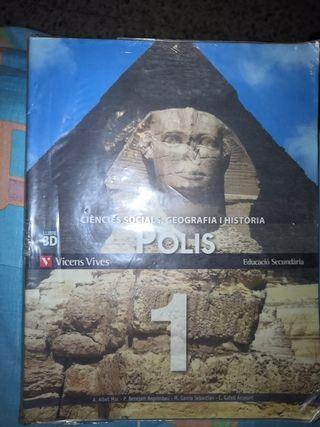 Libro de Ciencies Socials, Geografía i Historia