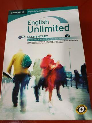 Libro de inglés: English Unlimited A2