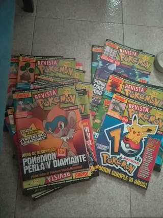Revistas Pokemon antiguas