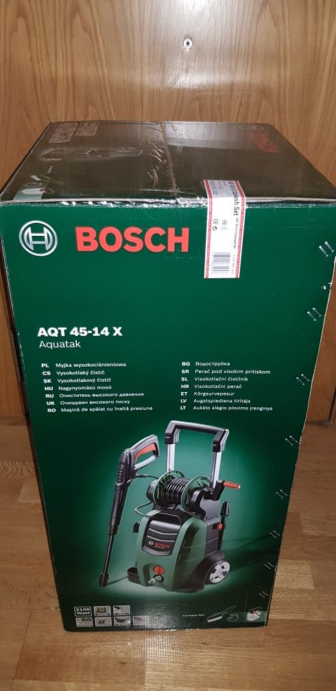 Bosh Hidrolimpiadora de Alta Presión AQT 45-14 X