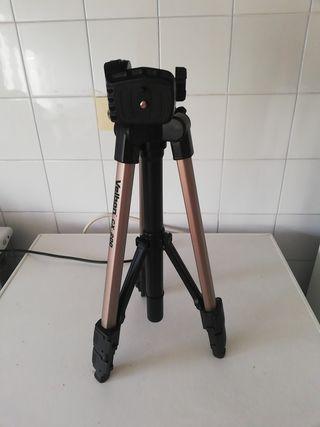 trípode video camara