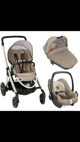 Carro bebé confort elea + accesorios de regalo