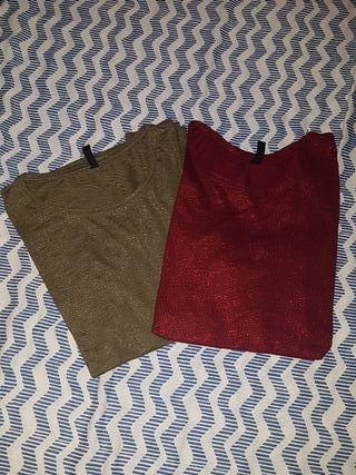 Camisetas básicas brillo