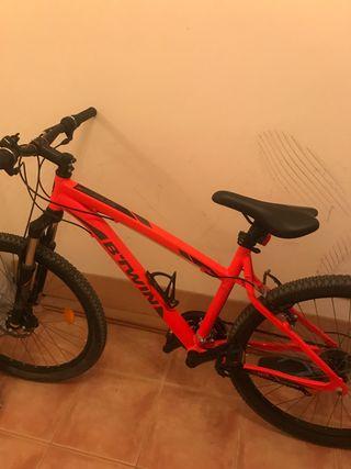 Bicicleta rockrider 340 como nueva