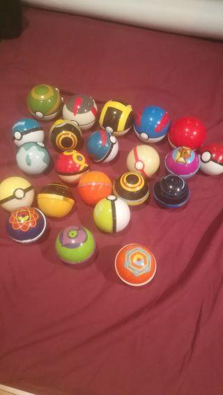 Colección Pokeball de Pokemon