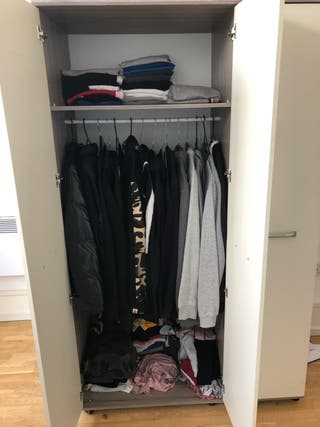 Wardrobe 2 section