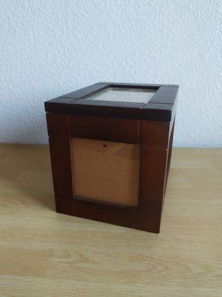 caja madera para fotos