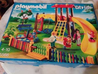 Parque de juegos City Life de Playmobil.