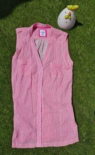 Camisa blusa manga larga verano Bershka S NUEVA