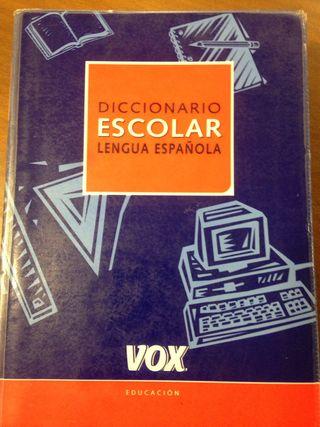 DICCIONARIO ESCOLAR LENGUA ESPAÑOLA VOX
