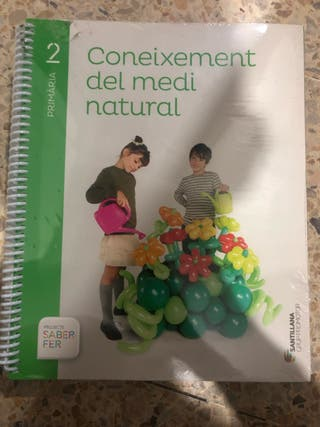Libro texto segundo de primaria
