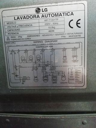 lavadora industrial 10 kilos