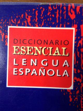 DICCIONARIO ESENCIAL LENGUA ESPAÑOLA VOX
