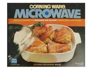 Horno para cocinar y asar en microondas.