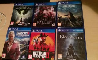 vendo videojuegos