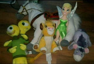 BUNDLE OF DISNEY TEDDIES GOOD CONDITION