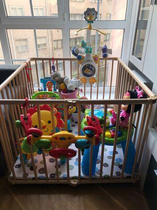 Parque infantil plegable GEUTHER LUCY
