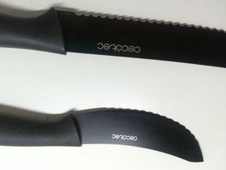 2 cuchillos CECOTEC Titanium