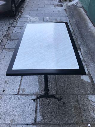 MESAS WERZALIT MARMOL 110cm x 70cm