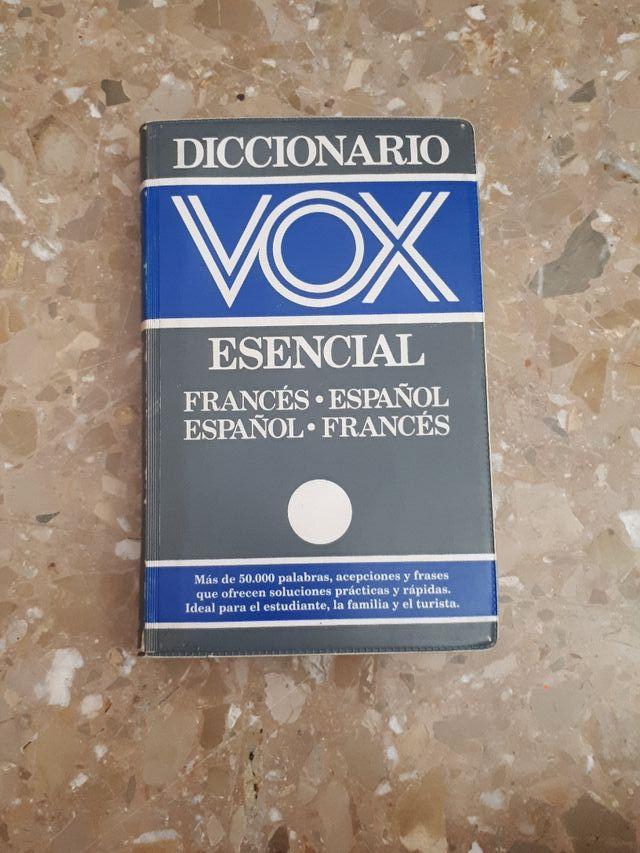Diccionario francés español