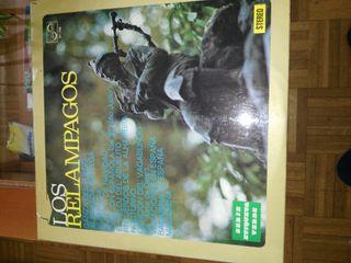Los Relampagos LPs y sencillos