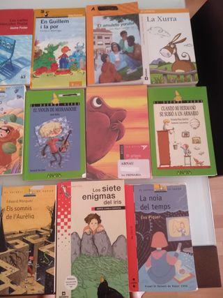 Libros escolares de lectura obligatoria