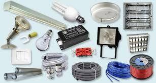 Lote de material de electricidad y electrónica
