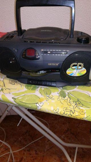 radio cassette y cd