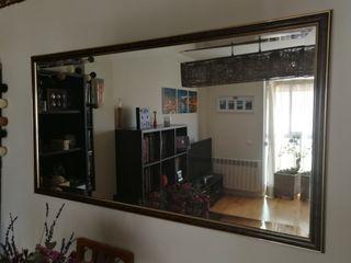 Espejo Salón grande vintage biselado
