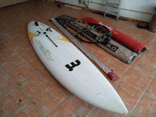 Equipo windsurf completo mistral sconcept 325