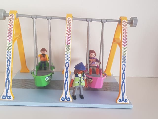 Columpio barcos playmobil