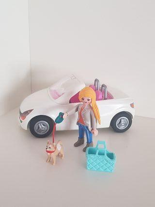 Descapotable playmobil