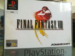 Final Fantasy VIII PAL ESPAÑA Completo Ps1 Psx