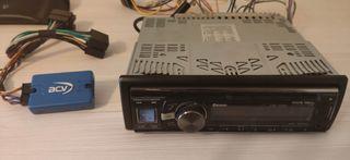 radio coche y accesorio mando volante Citroen c3