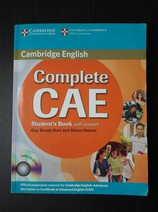 Libro para aprender inglés C1. Advanced, CAE