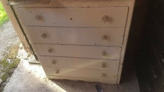 Old chest of drawers for sale from 1958!