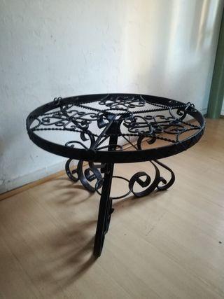 Lote de mesas hierro forjado