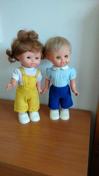 Kika y Kiko, Famosa años 70