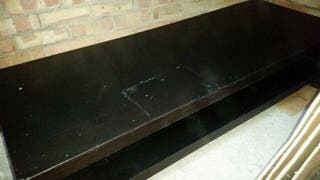 Solid black coffee table for sale!