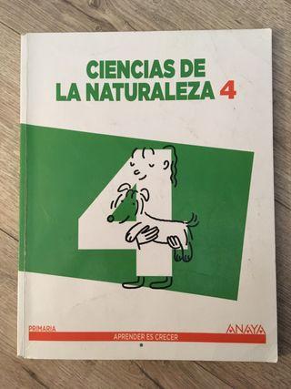 Ciencias de la Naturaleza 4 Anaya