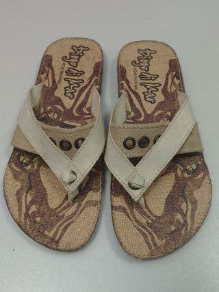 Sandalias de dedo talla 45 NUEVAS
