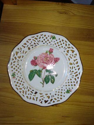 Plato de porcelana coleccionistas