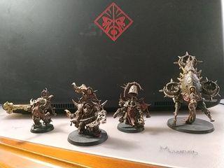 Pack death guard. Warhammer.