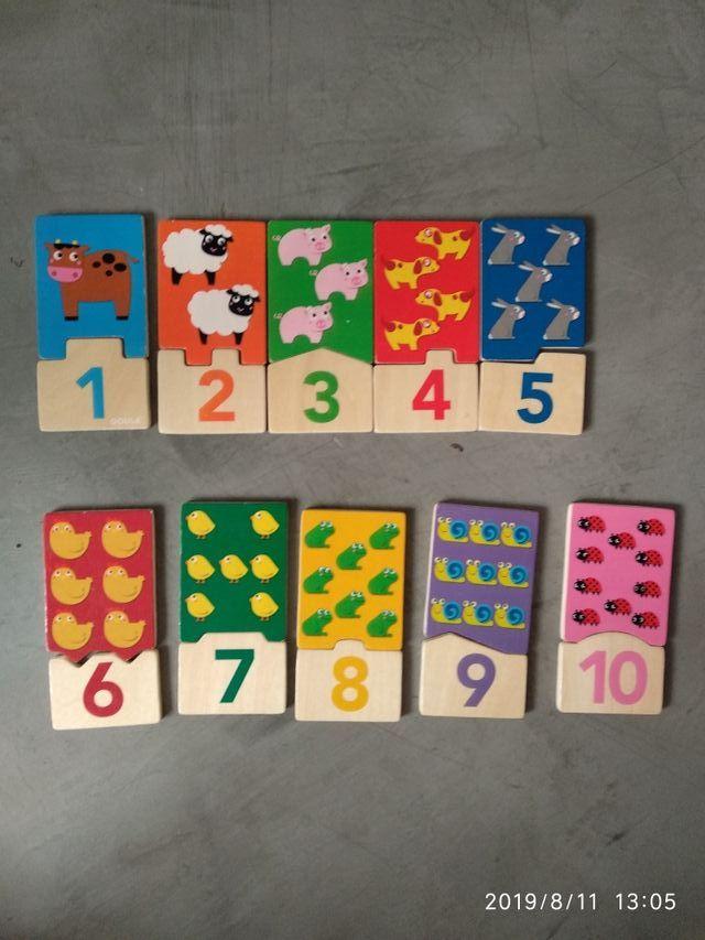 puzzles primera infancia marca gouda