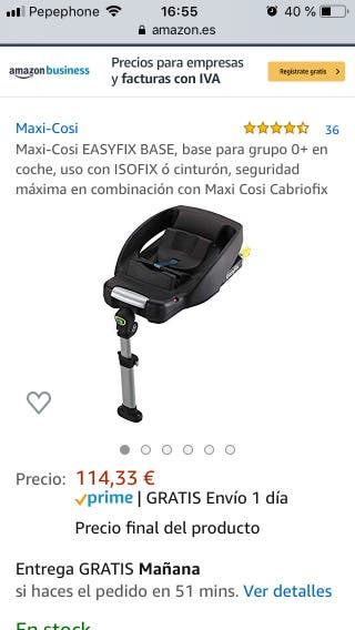 Base Esafix Maxi-cosi NUEVO