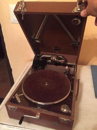 gramola/gramófono portátil