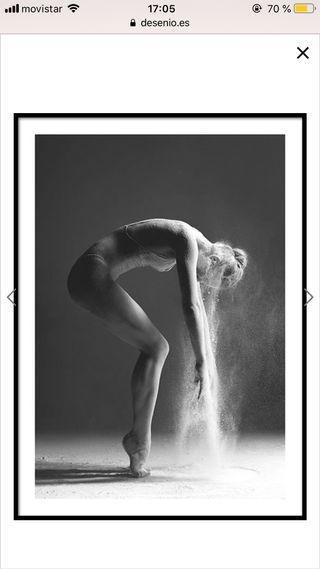 Cuadro/póster bailarina