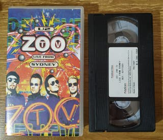"VHS U2 ""Zoo TV: Live from Sidney"" (1994)"