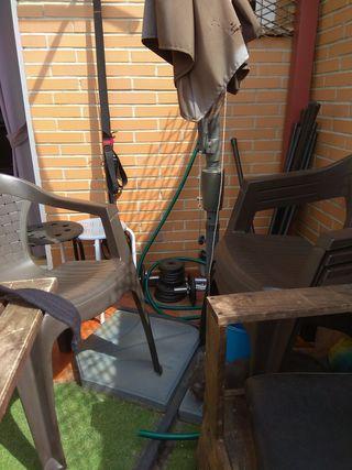 Sombrilla terraza de segunda mano en madrid en wallapop - Sombrilla de terraza ...