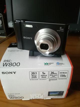 Cámara Sony DSC W800